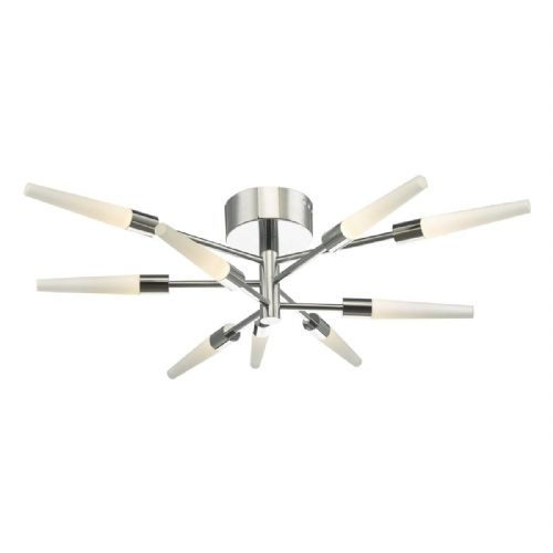 Isidora 9 Light Semi Flush Polished Chrome Led (Double Insulated) BXISI1350-17